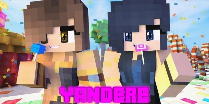 Skins Pack Of Yandere For MCPE For Android APK Download - Skin para minecraft pe yandere