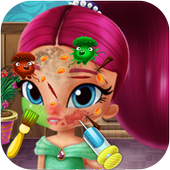 Shimmer Skin trouble Doctor Salon icon