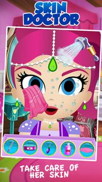Shimmer Skin trouble Doctor Salon apk screenshot