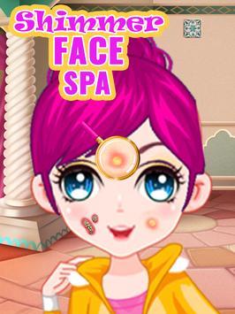Shimmer Spa Salon Makeover - Skin Doctor poster