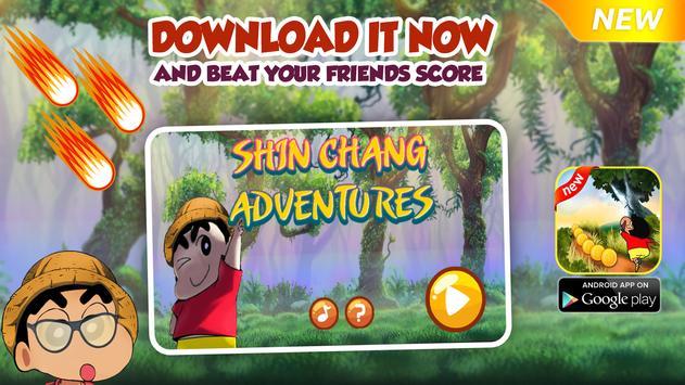 Shin Jungle Adventure Game poster