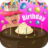 Birthday Cake with Name Pic icon