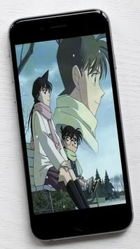 Shinichi Kudo and Ran Mouri Wallpapers apk screenshot