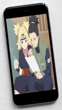 Shikamaru and Temari Wallpaper poster