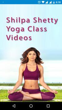 Shilpa Shetty Yoga Classes Video Tutorials Poster