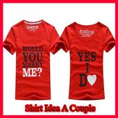 Couple clothes ideas icon