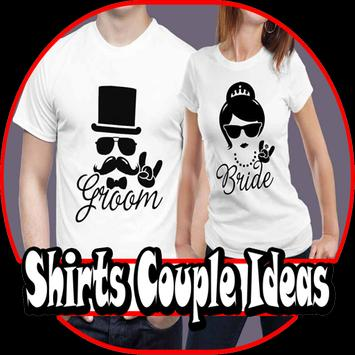 Shirts Couple Ideas poster