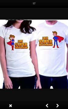 Shirts Couple Ideas apk screenshot