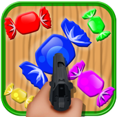 candies shooter game icon