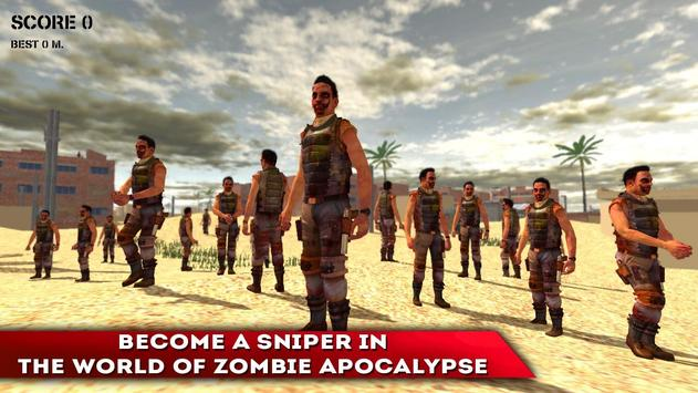 Shooter: Sniper VS Zombies 3D apk screenshot