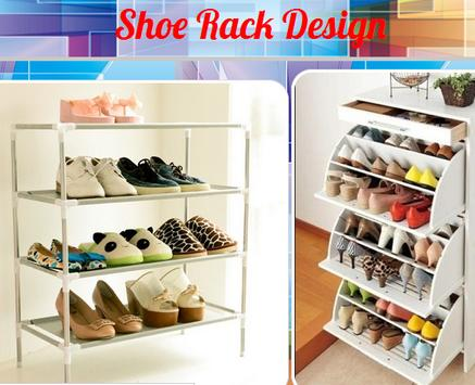 Shoe Rack Design poster