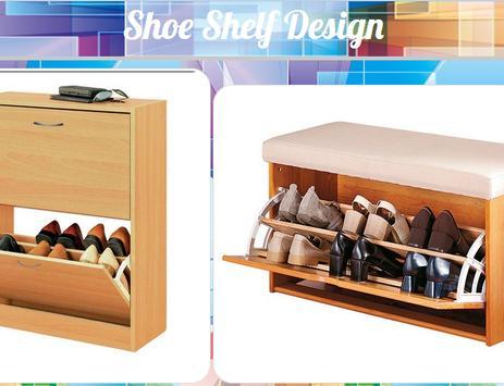 Shoe Shelf Design poster