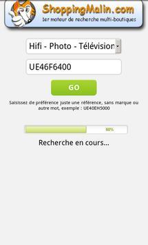 Comparateur de prix apk screenshot