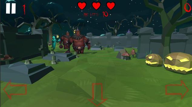 Spooky Zombie Bash screenshot 2