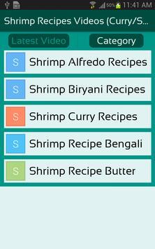 Shrimp Recipes Videos (Curry/Soup/Biryani/ALL) apk screenshot