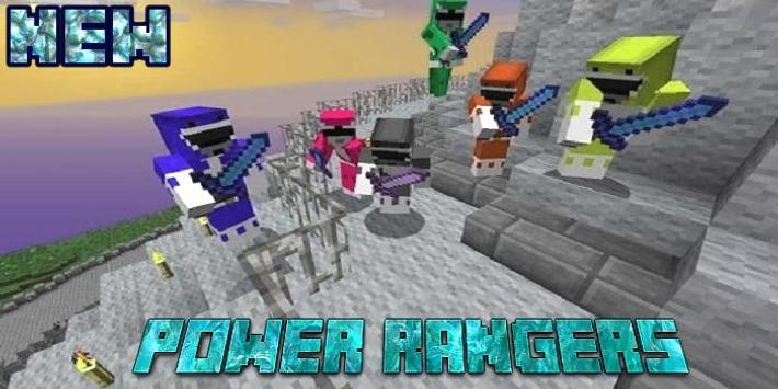 MOD Power Rangers For McPE apk screenshot
