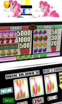3D Alicorn Party Slots - Free apk screenshot