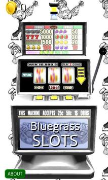 3D Bluegrass Slots - Free poster