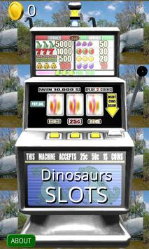 3D Dinosaurs Slots - Free poster