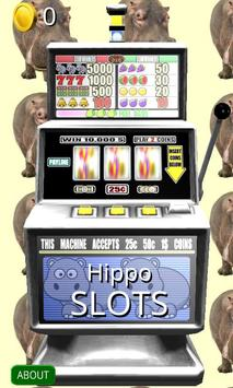 3D Hippo Slots - Free poster