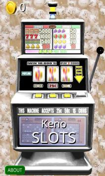 3D Keno Slots - Free poster