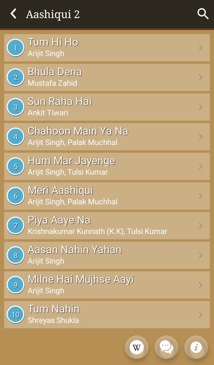 aashiqui 2 hindi film video song free download