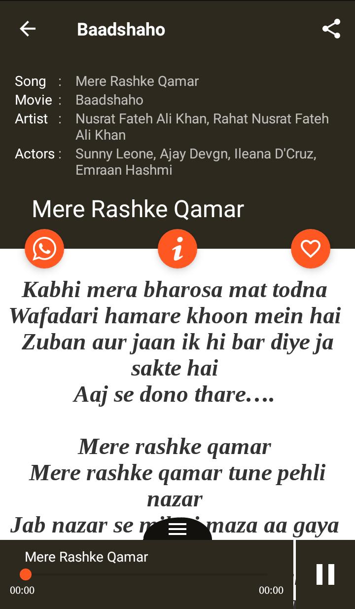 Hindi Songs Lyrics for Android - APK Download