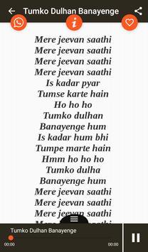 Hit Kumar Sanu Songs Lyrics screenshot 10