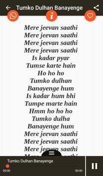 Hit Kumar Sanu Songs Lyrics screenshot 18
