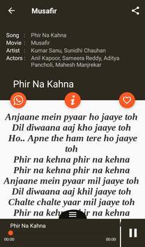 Hit Kumar Sanu Songs Lyrics screenshot 19