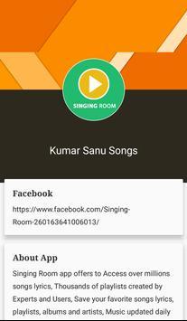 Hit Kumar Sanu Songs Lyrics screenshot 20