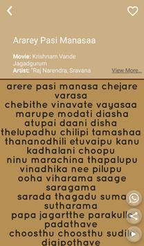 Hit Rana Daggubati Songs Lyric apk screenshot