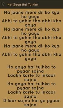 Hit Udit Narayan Songs Lyrics screenshot 5