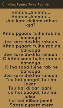 Hit Udit Narayan Songs Lyrics screenshot 13