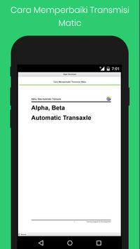Cara Memperbaiki Transmisi Matic screenshot 5