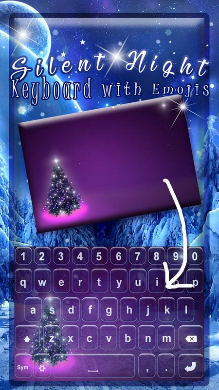 Silent Night Keyboard With Emojis For Android Apk Download