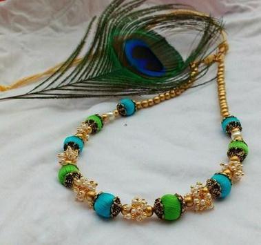 Silk Thread Necklace screenshot 5