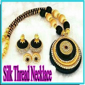 Silk Thread Necklace screenshot 8