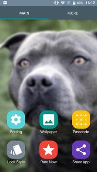 Pitbull Nice Dogs Wallpaper Lock Screen screenshot 2