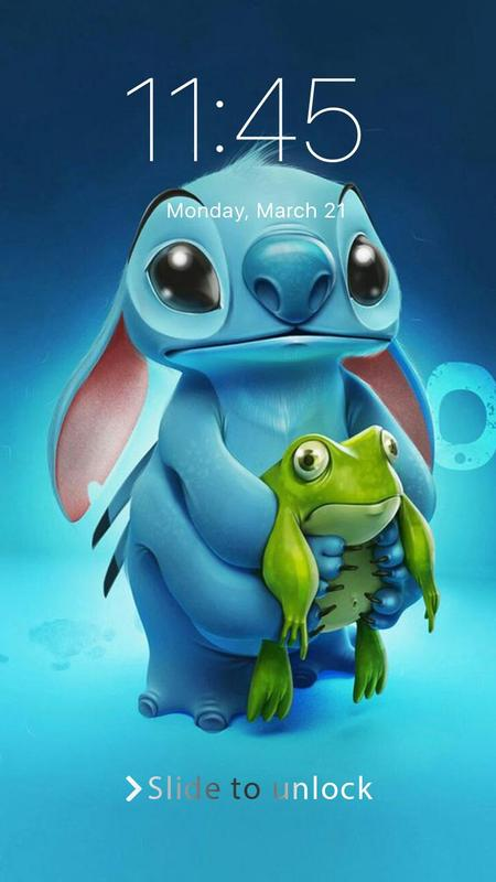 Wallpaper Lilo Stitch Phone Lock For Android Apk Download