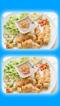 Spot The Differences - Delicious Food Pictures screenshot 8
