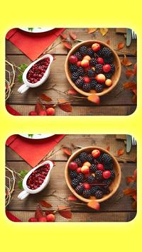 Find 5 Differences - Spot The Differences - Food screenshot 1
