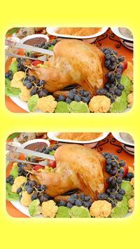 Spot The Differences - Tasty Food Quiz screenshot 1