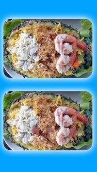 Spot The Differences - Tasty Food Quiz screenshot 2