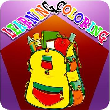 Learning Coloring poster