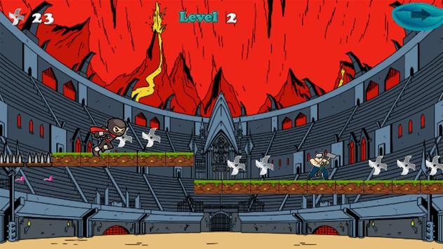 Juego de Ninja Corredor apk screenshot