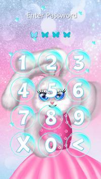 Cute Girly Keypad Lock Screen screenshot 5