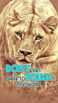 Don't Touch My Phone App Lock poster