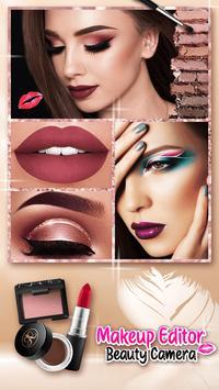 Makeup Editor Beauty Camera screenshot 2
