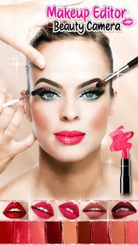Makeup Editor Beauty Camera screenshot 3